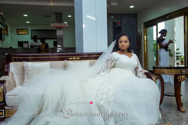 Nigerian Bride Gown Judith & Kingsley Diko Photography LoveweddingsNG