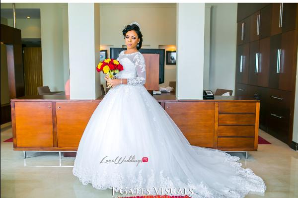 Nigerian Bride Odera & Daniel Trendybee Events LoveweddingsNG 1