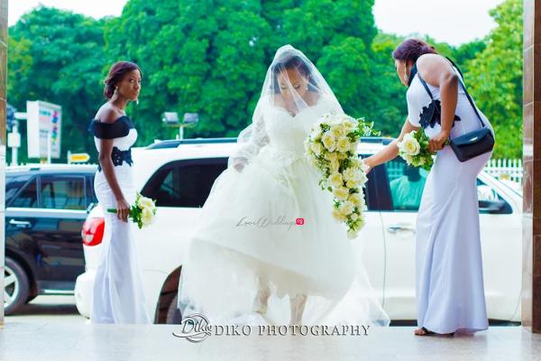Nigerian Bride and Bridesmaids Judith & Kingsley Diko Photography LoveweddingsNG
