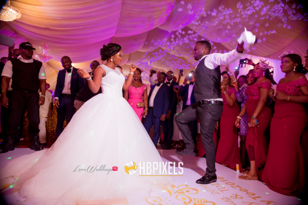 Nigerian Bride and Groom Dance Dami and Tobi HB Pixels LoveweddingsNG 1