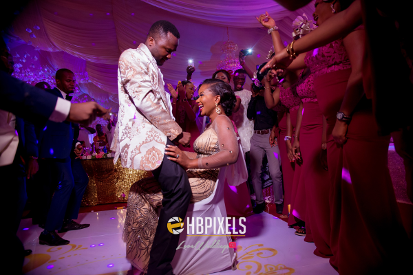 Nigerian Bride and Groom Dance Dami and Tobi HB Pixels LoveweddingsNG 2