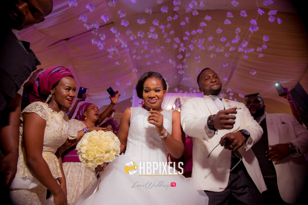 Nigerian Bride and Groom Dance Dami and Tobi HB Pixels LoveweddingsNG