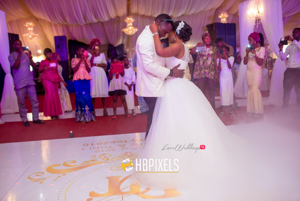 Nigerian Bride and Groom First Dance Dami and Tobi HB Pixels LoveweddingsNG 1