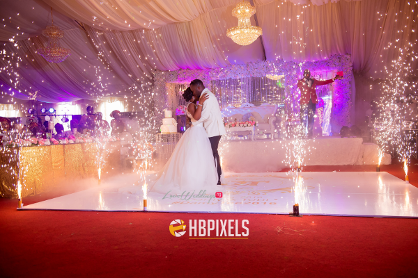 Nigerian Bride and Groom First Dance Dami and Tobi HB Pixels LoveweddingsNG 3