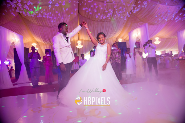Nigerian Bride and Groom First Dance Dami and Tobi HB Pixels LoveweddingsNG 8