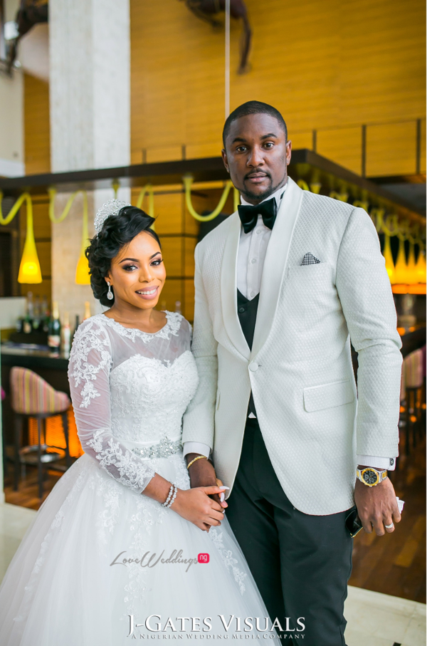 Nigerian Bride and Groom Odera & Daniel Trendybee Events LoveweddingsNG 3