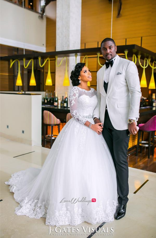 Nigerian Bride and Groom Odera & Daniel Trendybee Events LoveweddingsNG 4