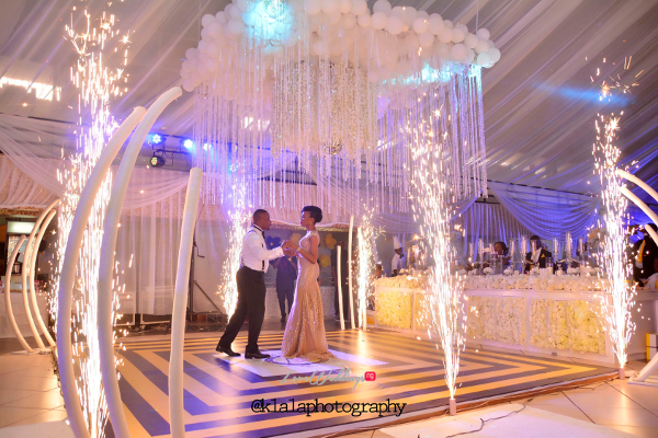 Nigerian Bride and Groom Olamide Smith Udeme Williams First Dance Klala Photography LoveweddingsNG
