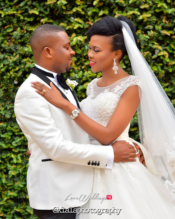 Nigerian Bride and Groom Olamide Smith Udeme Williams Klala Photography Sweet Indulgence LoveweddingsNG