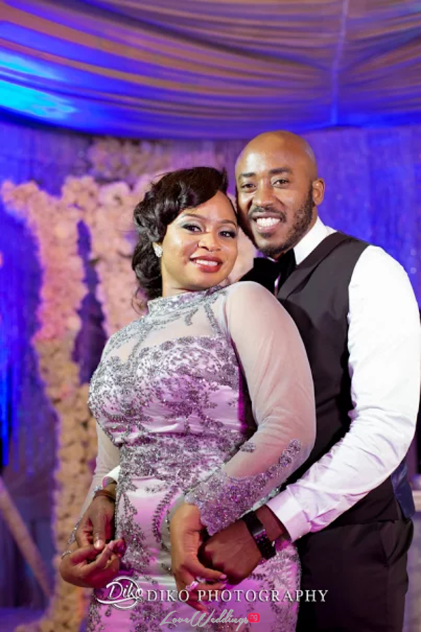 Nigerian Bride and Groom Reception Outfit Judith & Kingsley Diko Photography LoveweddingsNG
