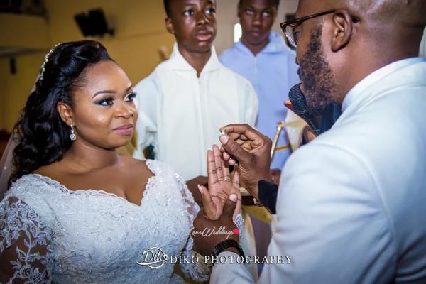 Nigerian Bride and Groom Rings Judith & Kingsley Diko Photography LoveweddingsNG 1