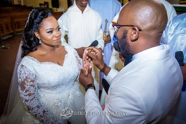 Nigerian Bride and Groom Rings Judith & Kingsley Diko Photography LoveweddingsNG 2