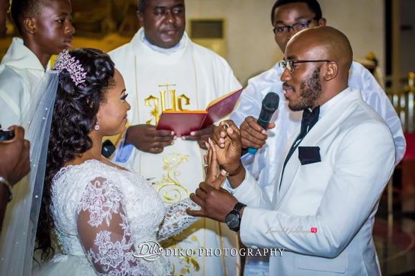Nigerian Bride and Groom Rings Judith & Kingsley Diko Photography LoveweddingsNG