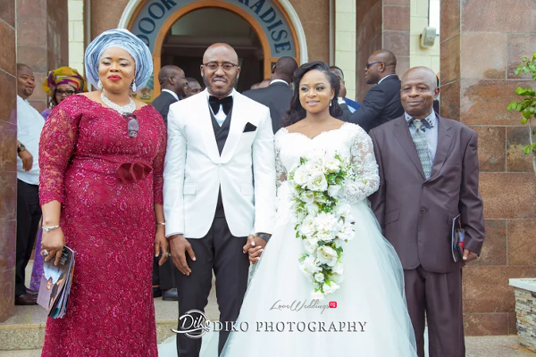 Nigerian Bride and Groom with Parents Judith & Kingsley Diko Photography LoveweddingsNG 1