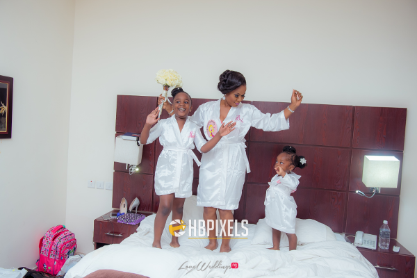 Nigerian Bride and Little Bride Dami and Tobi HB Pixels LoveweddingsNG 1