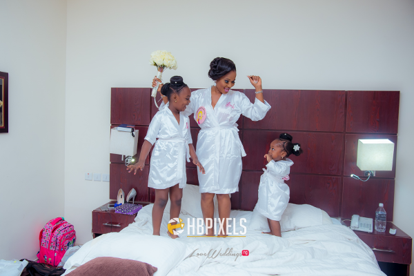 Nigerian Bride and Little Bride Dami and Tobi HB Pixels LoveweddingsNG