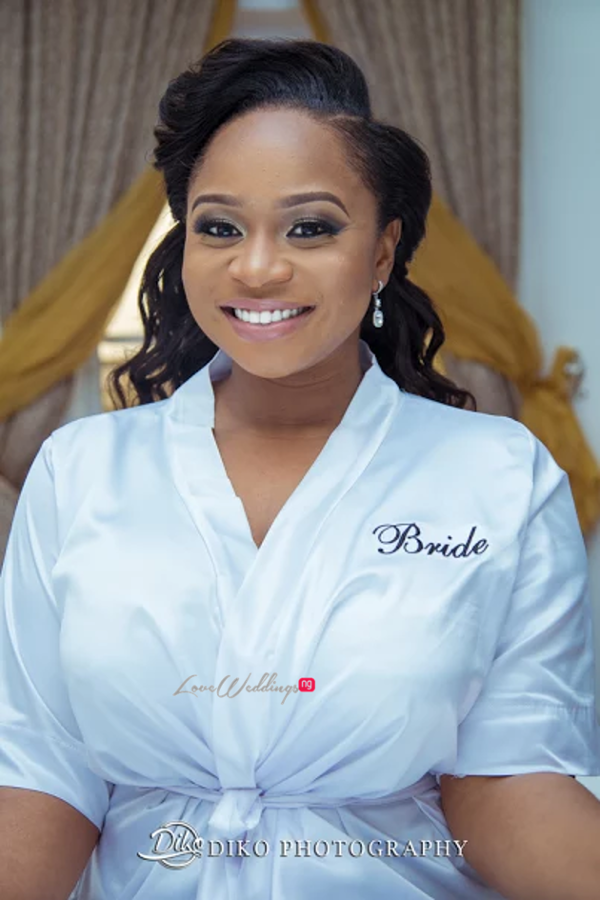 Nigerian Bride in Robe Judith & Kingsley Diko Photography LoveweddingsNG