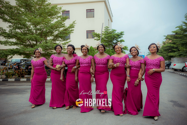 Nigerian Bridesmaids Dami and Tobi HB Pixels LoveweddingsNG