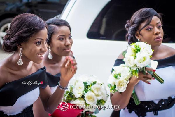 Nigerian Bridesmaids Judith & Kingsley Diko Photography LoveweddingsNG