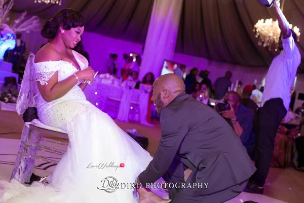 Nigerian Couple Garter Judith & Kingsley Diko Photography LoveweddingsNG