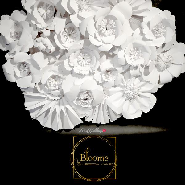 Nigerian Paper Flowers Blooms by Jessica James LoveweddingsNG 1