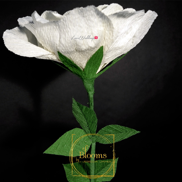 Nigerian Paper Flowers Blooms by Jessica James LoveweddingsNG 10