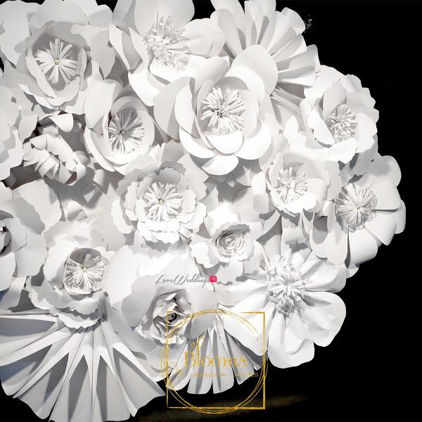 Nigerian Paper Flowers Blooms by Jessica James LoveweddingsNG 3