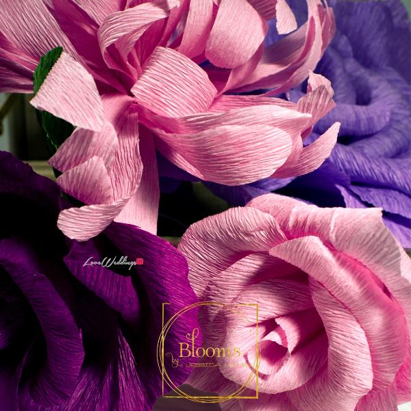 Nigerian Paper Flowers Blooms by Jessica James LoveweddingsNG 8