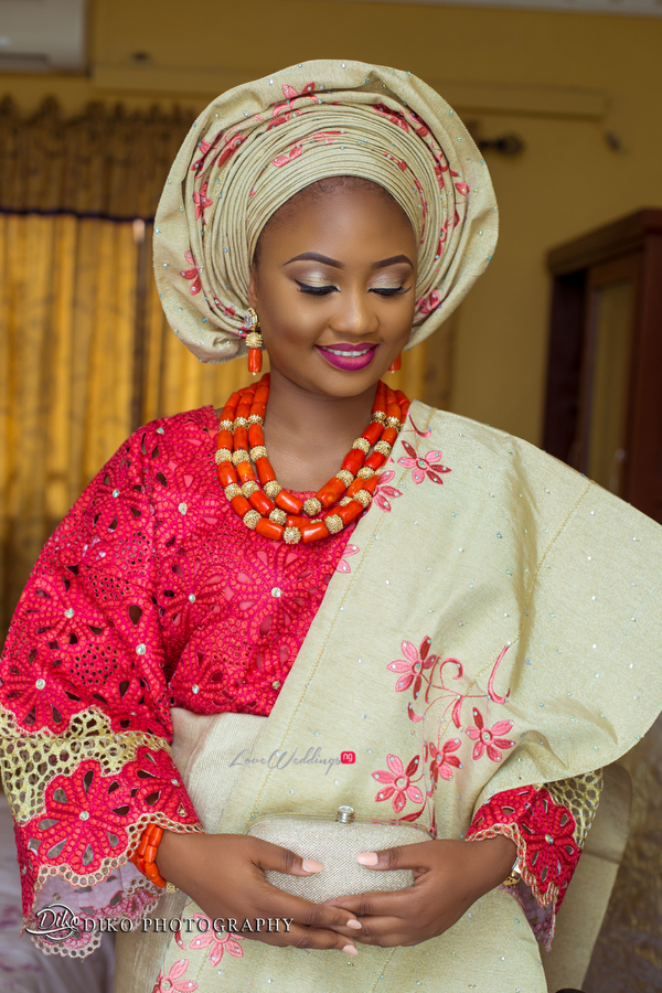 Nigerian Traditional Bride Adefunke & Adebola Diko Photography LoveweddingsNG 1