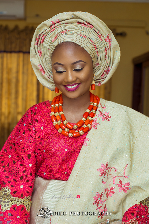 Nigerian Traditional Bride Adefunke & Adebola Diko Photography LoveweddingsNG 2