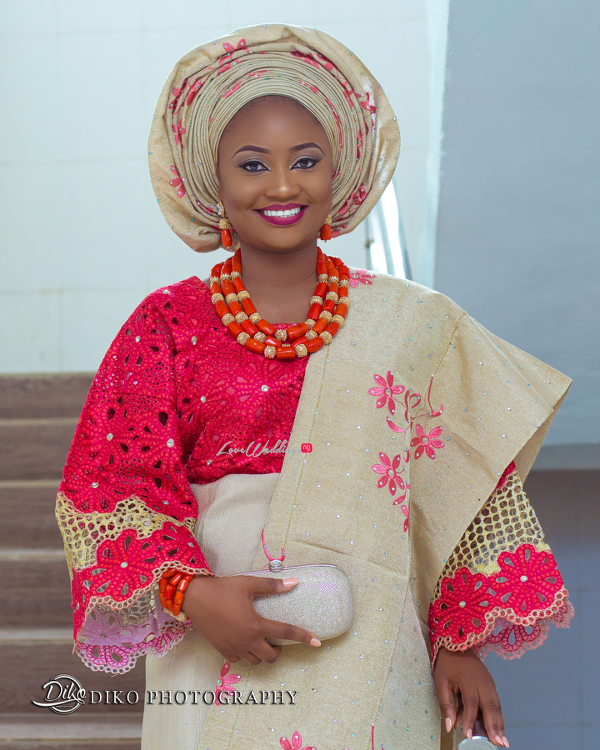 Nigerian Traditional Bride Adefunke & Adebola Diko Photography LoveweddingsNG 4