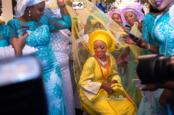 Nigerian Traditional Bride Dancing Kunbi Oyelese LoveweddingsNG