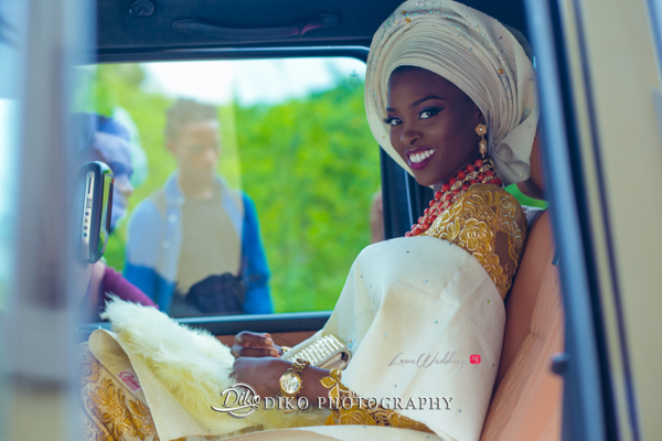 Nigerian Traditional Bride Tope and Dami Diko Photography LoveweddingsNG 4