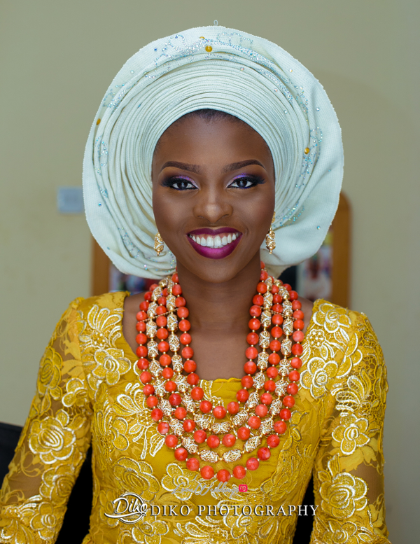 Nigerian Traditional Bride Tope and Dami Diko Photography LoveweddingsNG
