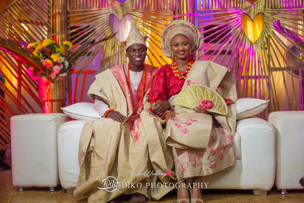 Nigerian Traditional Bride and Groom Adefunke & Adebola Diko Photography LoveweddingsNG 3