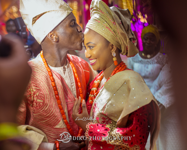 Nigerian Traditional Bride and Groom Adefunke & Adebola Diko Photography LoveweddingsNG 4