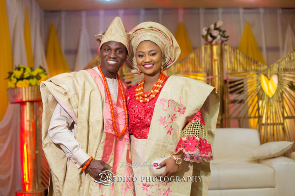 Nigerian Traditional Bride and Groom Adefunke & Adebola Diko Photography LoveweddingsNG 5