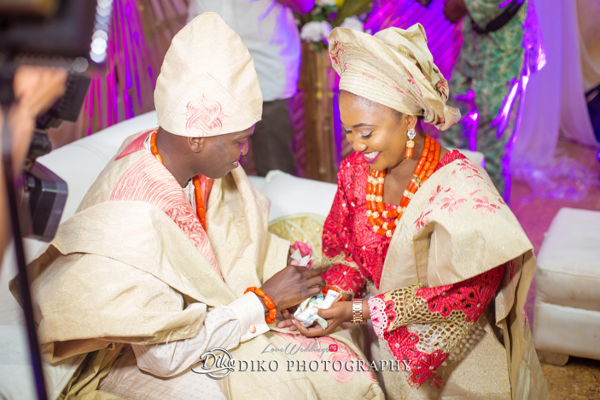 Nigerian Traditional Bride and Groom Adefunke & Adebola Diko Photography LoveweddingsNG