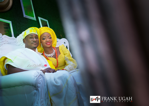 Nigerian Traditional Bride and Groom Kunbi Oyelese Lanre Tomori LoveweddingsNG 3