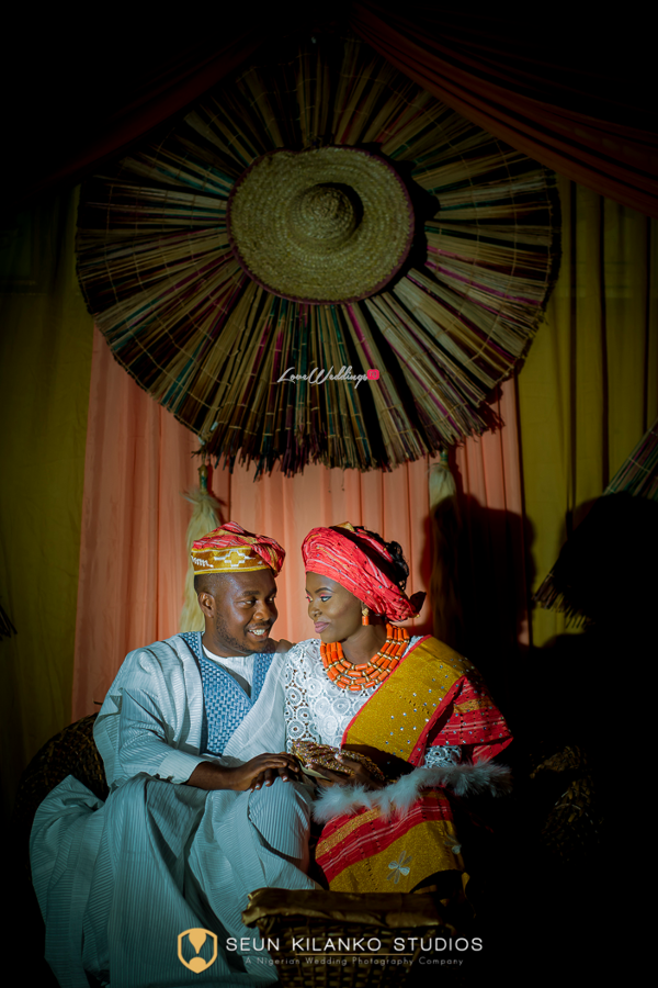 Nigerian Traditional Bride and Groom Seun and Tosin Seun Kilanko Studios LoveweddingsNG 2