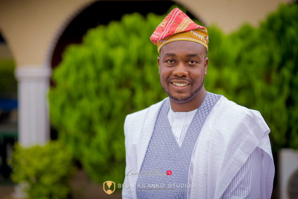 Nigerian Traditional Groom Seun and Tosin Seun Kilanko Studios LoveweddingsNG 1