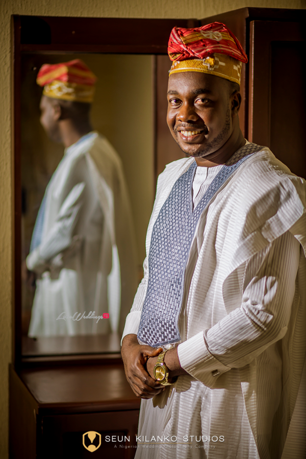 Nigerian Traditional Groom Seun and Tosin Seun Kilanko Studios LoveweddingsNG
