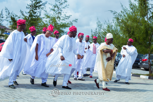 Nigerian Traditional Groom and Groomsmen Tope and Dami Diko Photography LoveweddingsNG 1