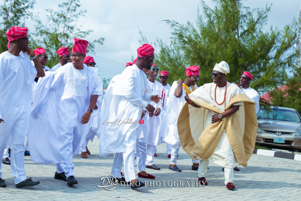 Nigerian Traditional Groom and Groomsmen Tope and Dami Diko Photography LoveweddingsNG 3