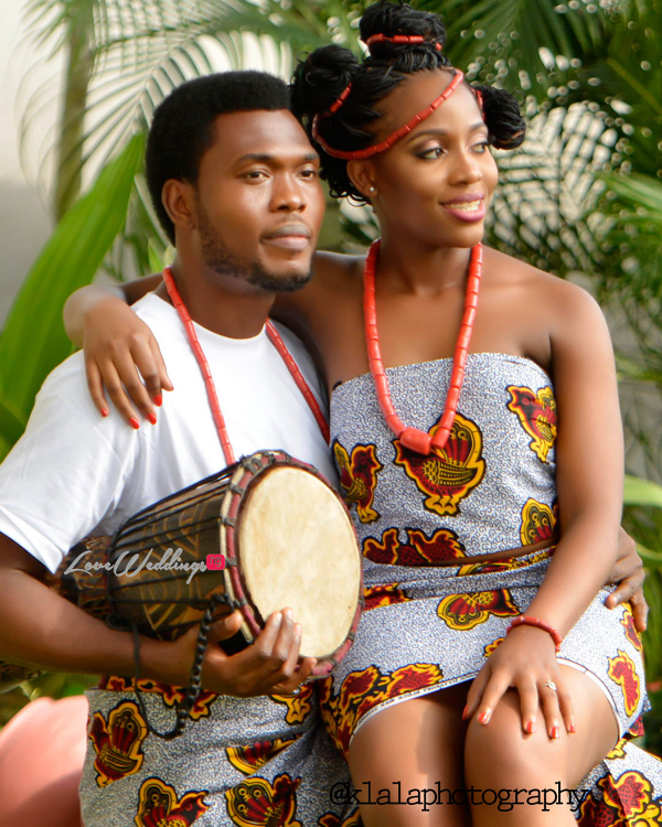 Nigerian Traditional Inspired Pre Wedding Shoot Eduabasi & Kido Klala Photography LoveweddingsNG 2