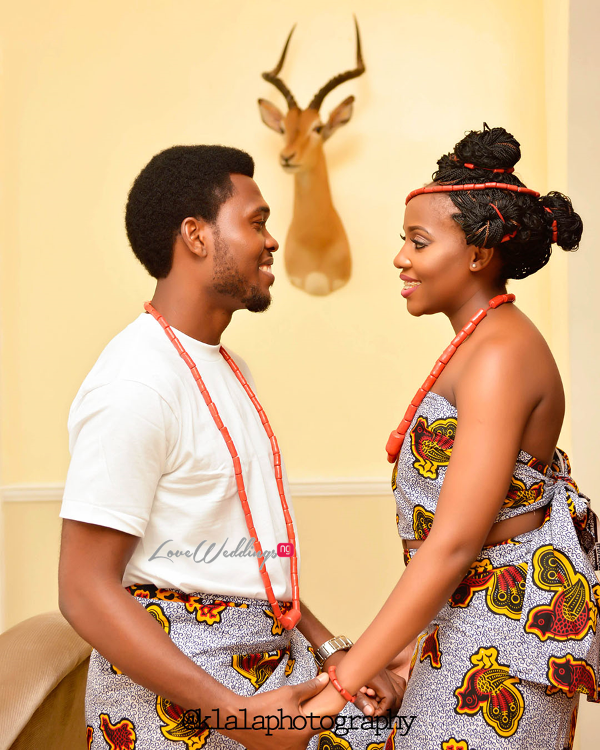 Nigerian Traditional Inspired Pre Wedding Shoot Eduabasi & Kido Klala Photography LoveweddingsNG 3