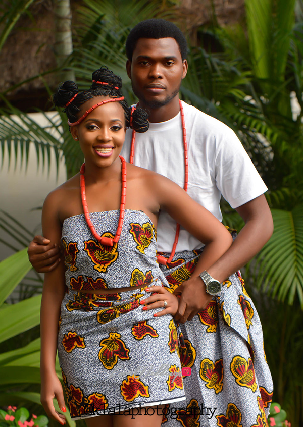 Nigerian Traditional Inspired Pre Wedding Shoot Eduabasi & Kido Klala Photography LoveweddingsNG 4