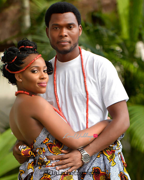 Nigerian Traditional Inspired Pre Wedding Shoot Eduabasi & Kido Klala Photography LoveweddingsNG 5