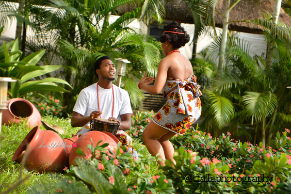 Nigerian Traditional Inspired Pre Wedding Shoot Eduabasi & Kido Klala Photography LoveweddingsNG 8