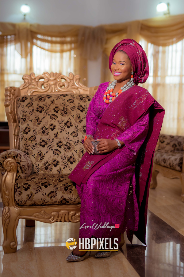 Nigerian Traditional Wedding Bride Dami & Tobi HB Pixels LoveweddingsNG